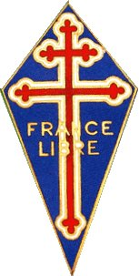 France Libre - patch worn by the Free French troops